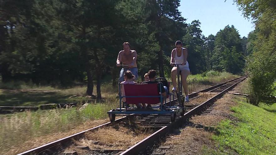 Video Šlapací drezíny v Ratíškovicích opět jezdí