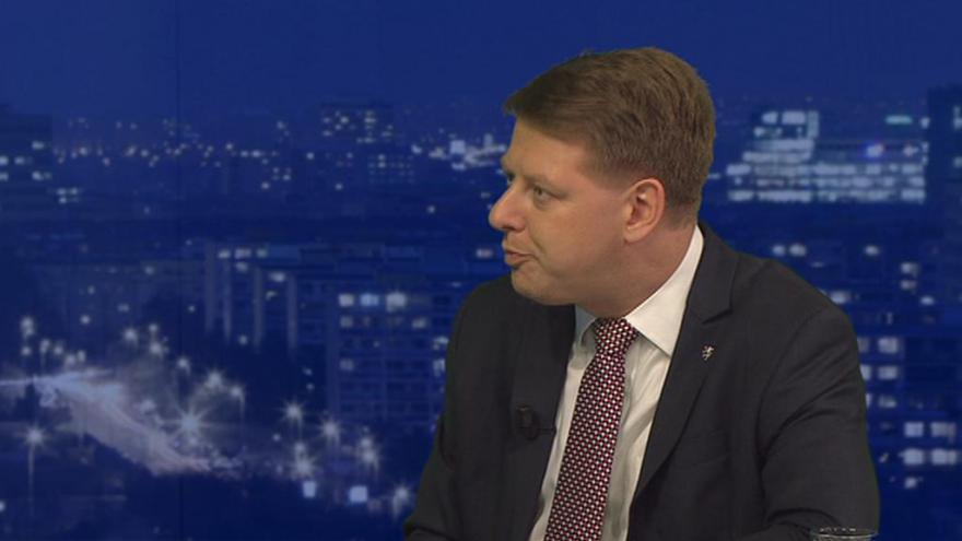 Video Tomáš Prouza v Událostech, komentářích: Na většinu věcí o migraci má V4 shodný názor