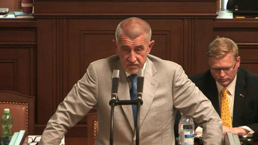 Video Babiš ve sněmovně: Omlouvám se, i když takto to nikdy nebylo řečené