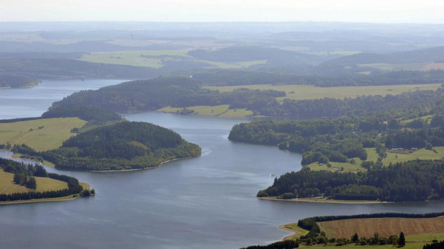 Video Kontrola přehrady Slezská Harta