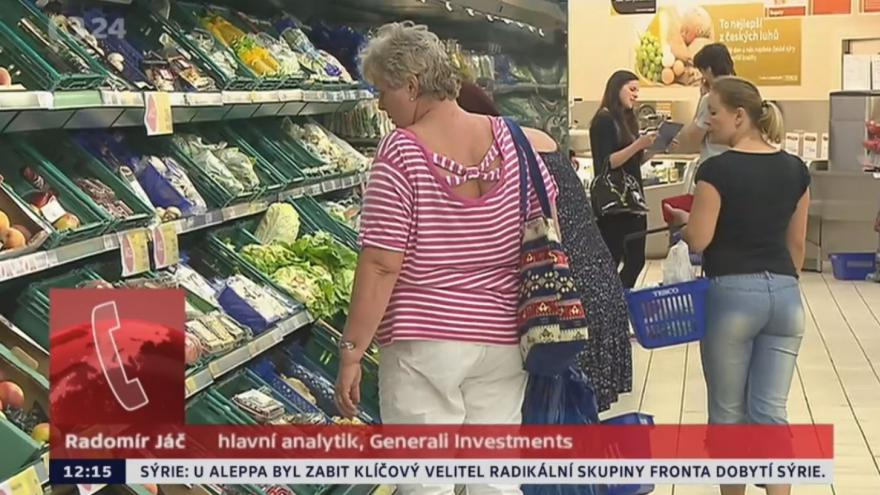 Video Inflace vzrostla na 0,6 %