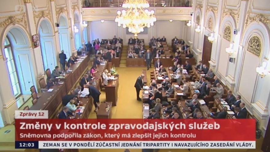 Video  Změny v kontrole zpravodajských služeb