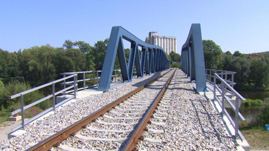 Video Události v regionech: SŽDC dokončila modernizaci trati Budějovice–Volary