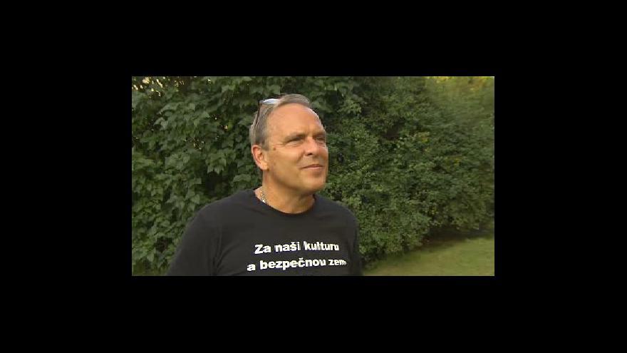 Video Lídr kandidátky Národní demokracie Zdeněk Červinka