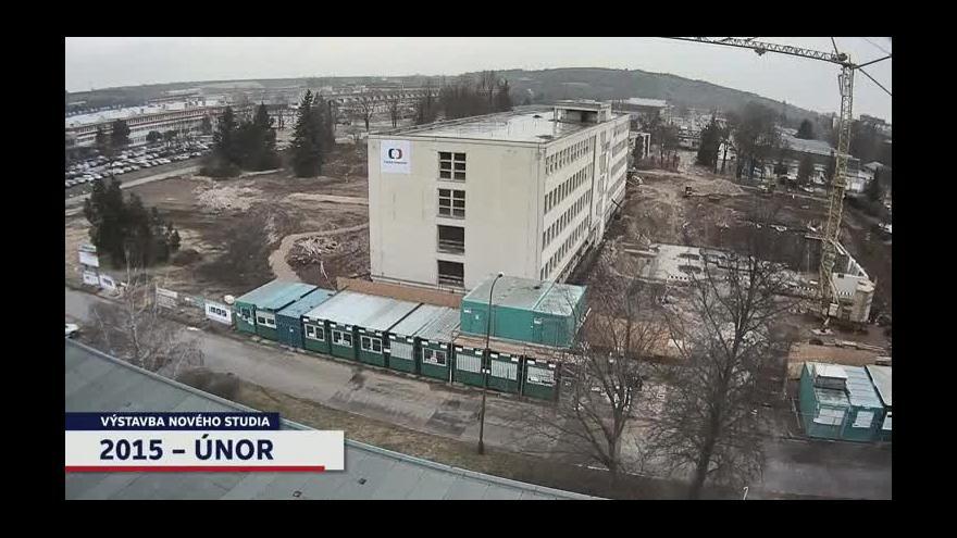 Video Časosběr z výstavby nové budovy