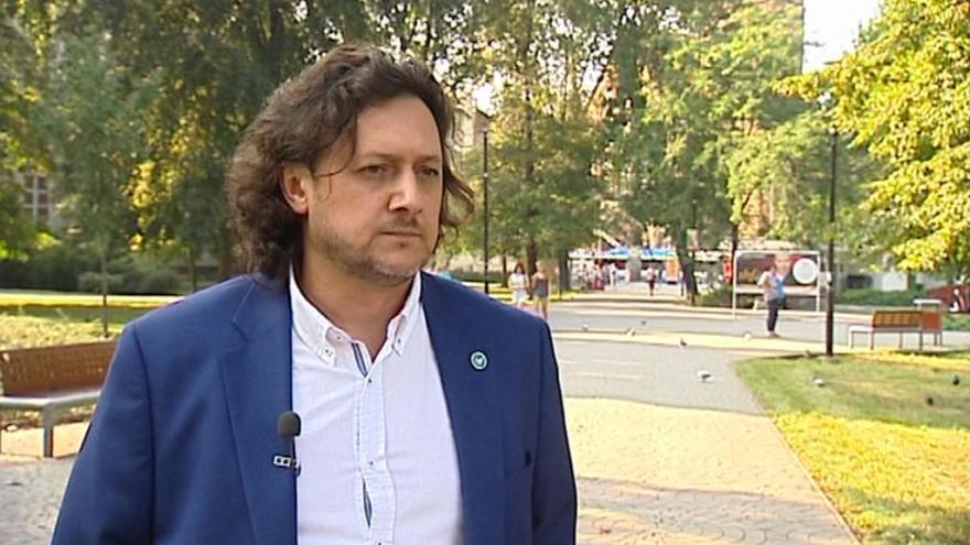 Video Lídr kandidátky Svobodných a Soukromníků Roman Klein