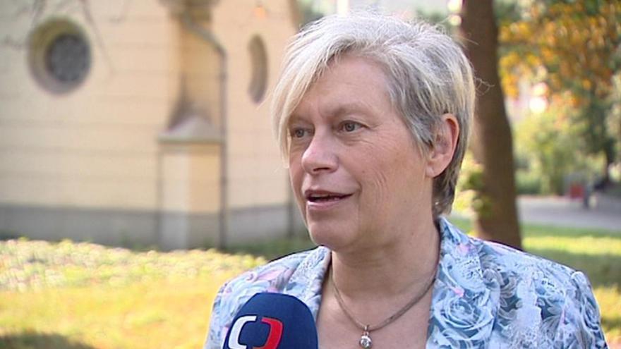 Video Lídryně kandidátky Moravanů Jarmila Orlitová