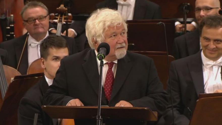 Video Projev Petra Pitharta ze slavnostního koncertu v pražském Rudolfinu