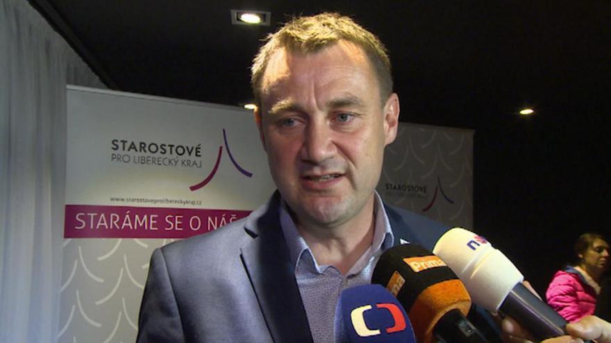 Video Lídr kandidátky SLK Martin Půta k výsledkům voleb