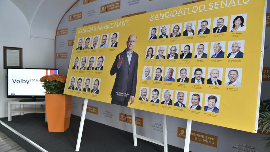 Video Mimořádné pořady ČT24 - Volby 2016