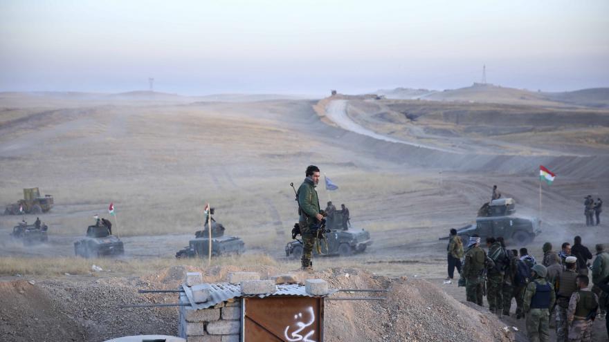 Video Irácká armáda zahájila útok na Mosul