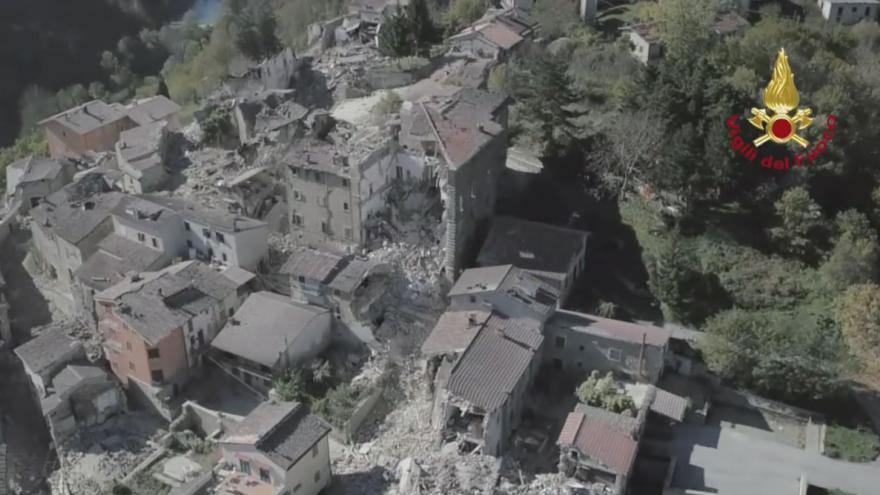 Video ACCUMOLI: Sorvolo drone