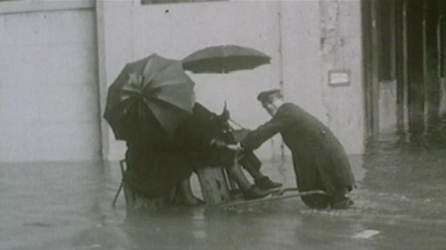 Video BEZ KOMENTÁŘE: Povodně v Benátkách