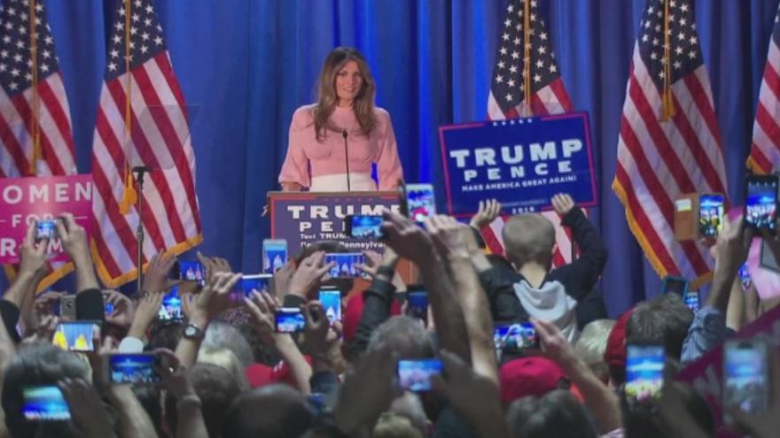 Video Projev Melanie Trumpové