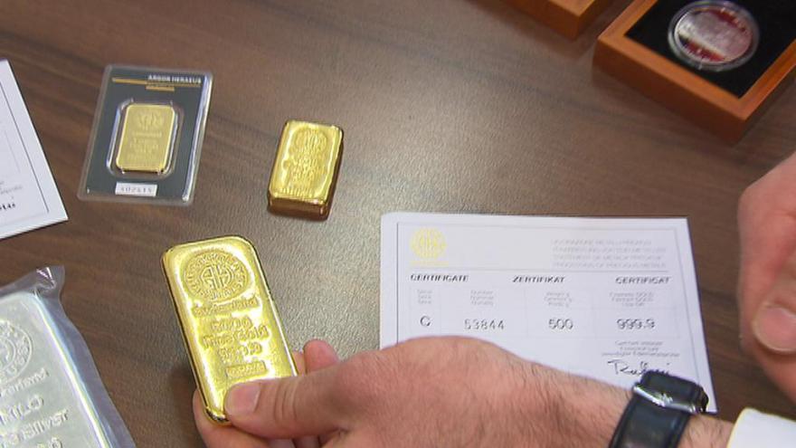 Video Těžba drahého kovu ve Zlatých Horách