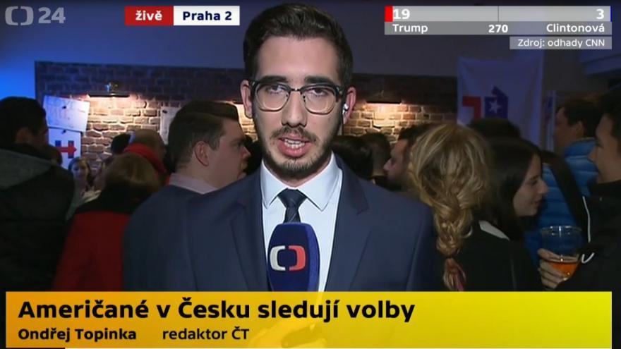 Video Američané v Praze