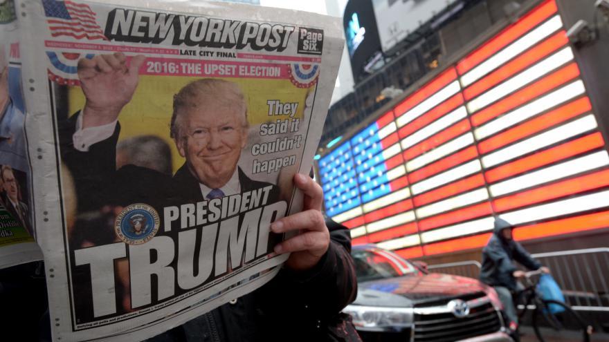 Video Noční drama, momenty, budoucnost USA. Události o vítězství Trumpa