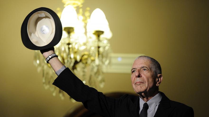 Video Zemřel zpěvák Leonard Cohen