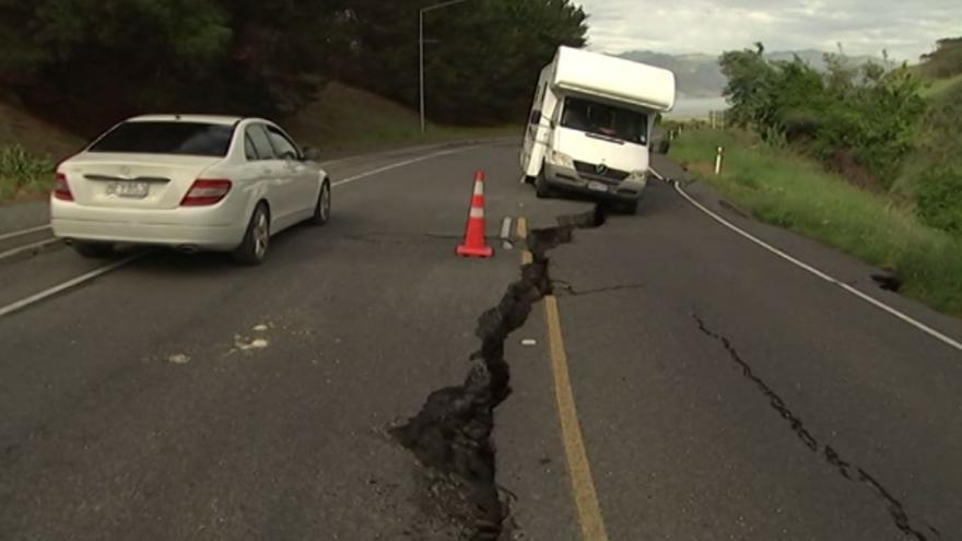 Video BEZ KOMENTÁŘE: Zemětřesení na Novém Zélandu