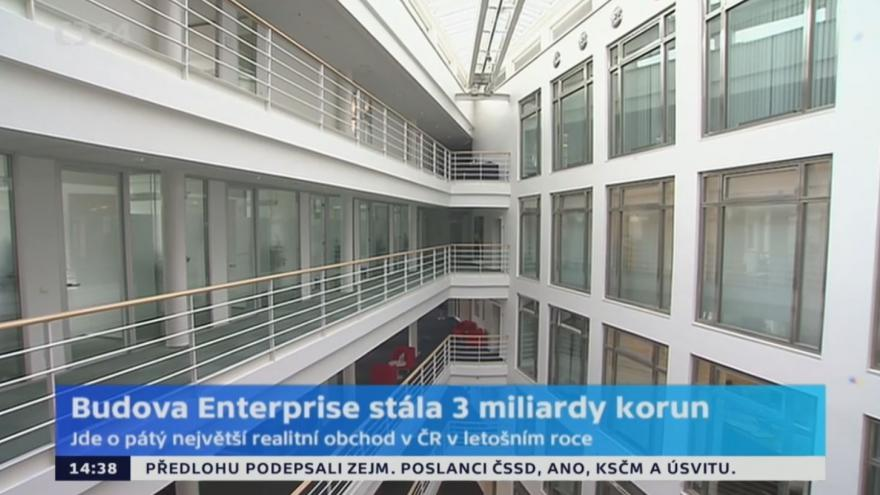 Video Kadeřábek k prodeji Enterprise