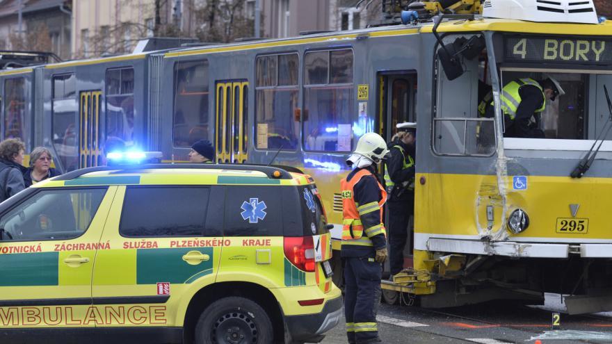 Video Nehoda v Plzni
