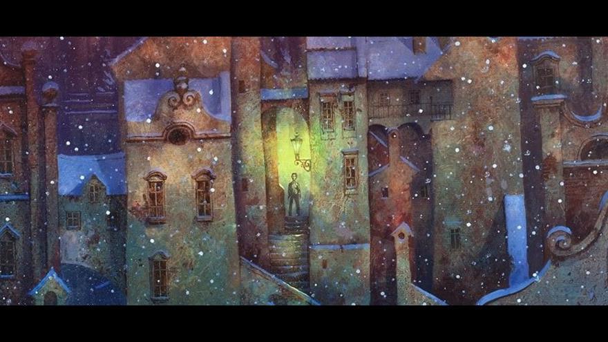 Video Výstava plná tajemných uliček je vymyšlená jako labyrint