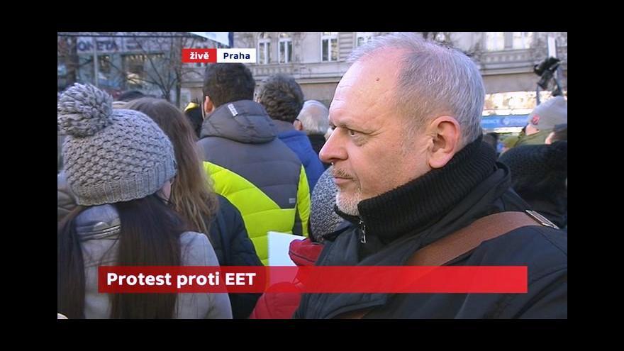 Video Radomil Bábek: EET je projev státní zvůle