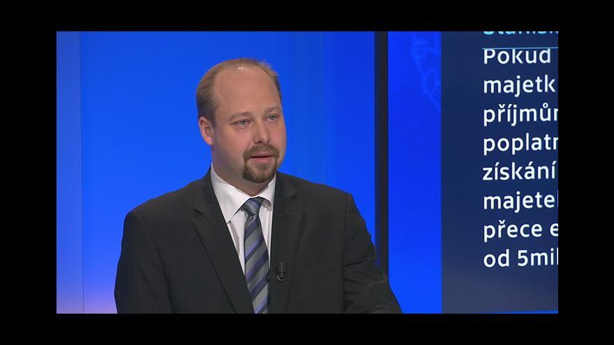 Video 90' ČT24 - Jak se kontroluje původ majetku