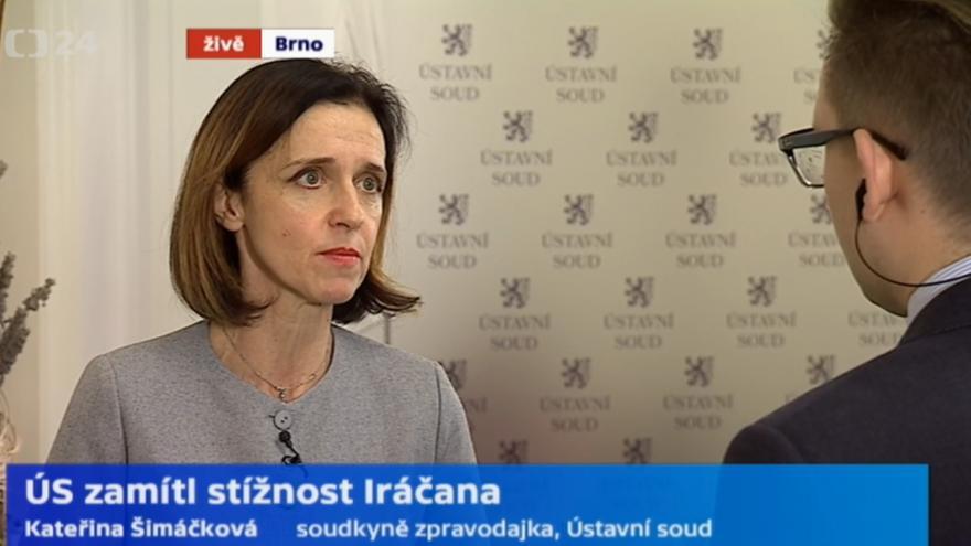 Video soudkyně zpravodajka Kateřina Šimáčková vysvětluje rozhodnutí Ústavního soudu