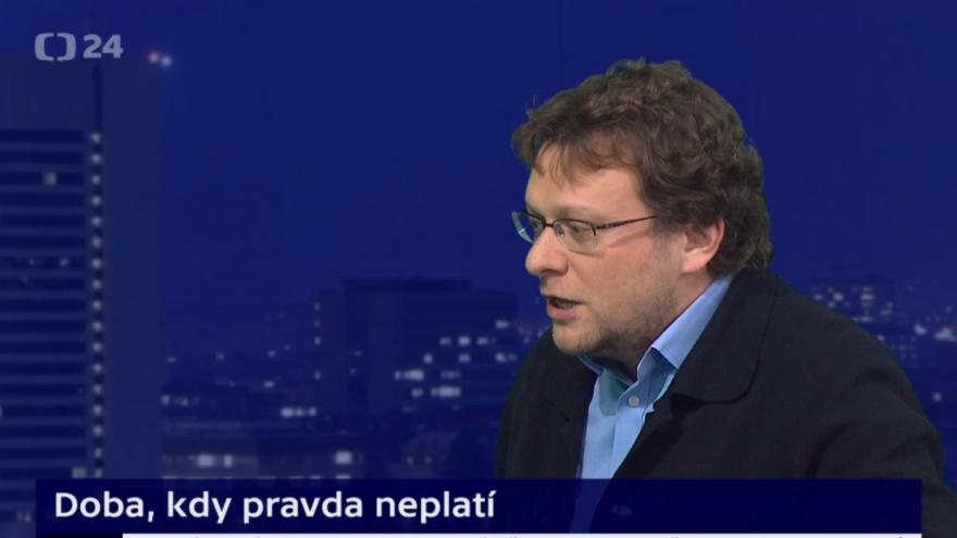 Video Peter Pomerantsev v Událostech, komentářích