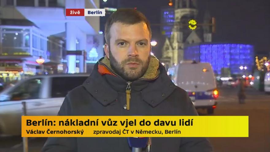 Video Černohorský z Berlína: Policie nevylučuje nehodu, ani útok