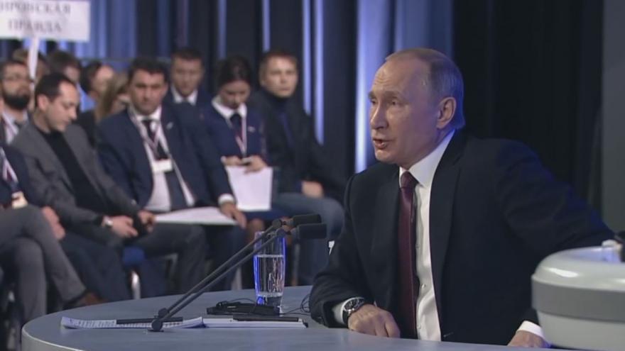 Video Výroční projev Vladimira Putina