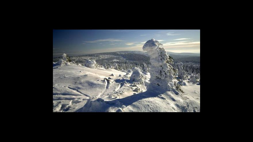 Video Sněhové zpravodajství
