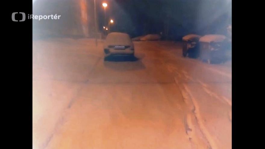 Video iReportérka Petra Prchalová: Sníh v Mnichově Hradišti