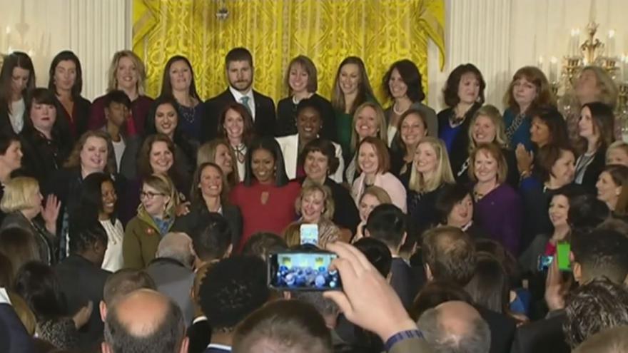 Video Poslední projev manželky amerického prezidenta Michelle Obamové