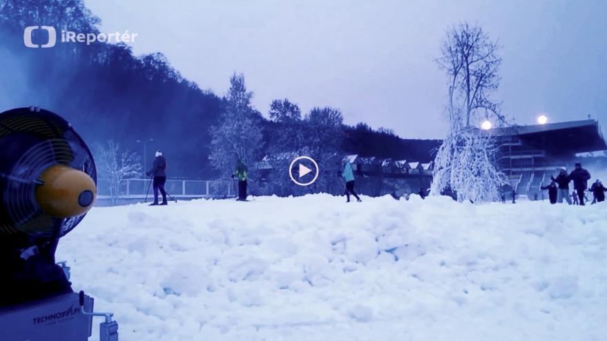 Video běžky Chuchle