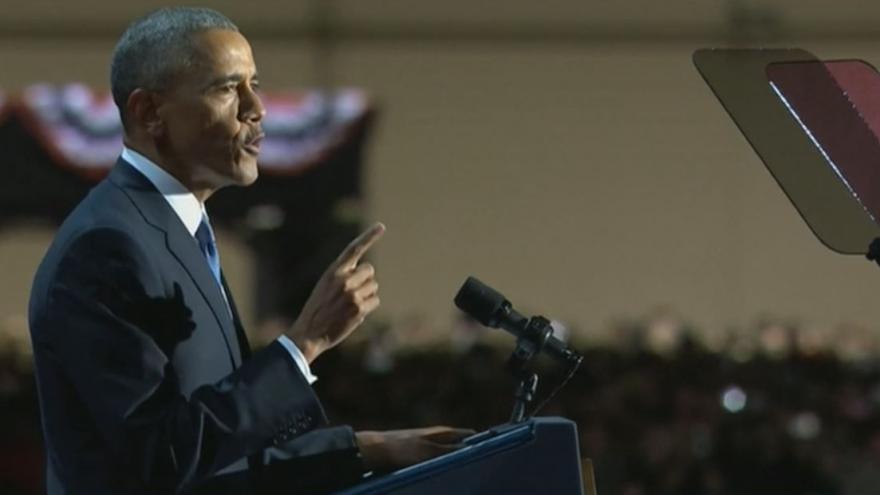 Video Poslední projev amerického prezidenta Baracka Obamy