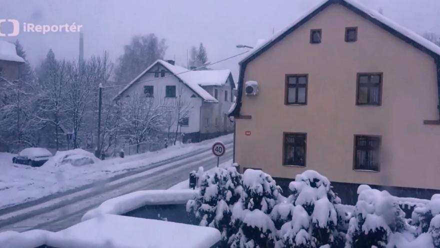 Video sněžení liberec