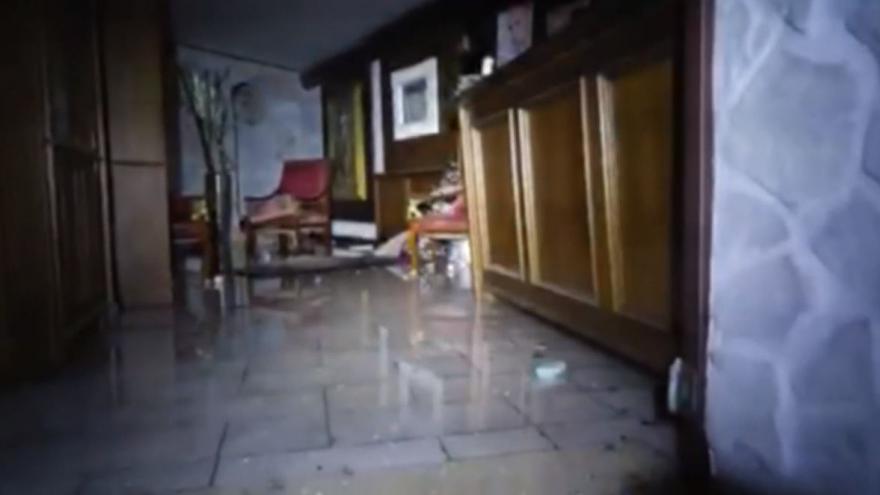 Video Hotel Rigopiano po pádu laviny