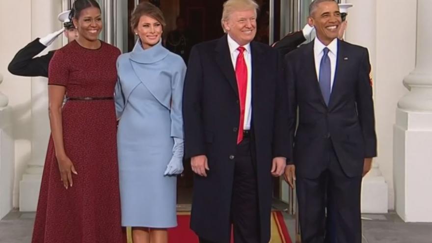 Video Barack Obama naposledy v roli hostitele v Bílém domě