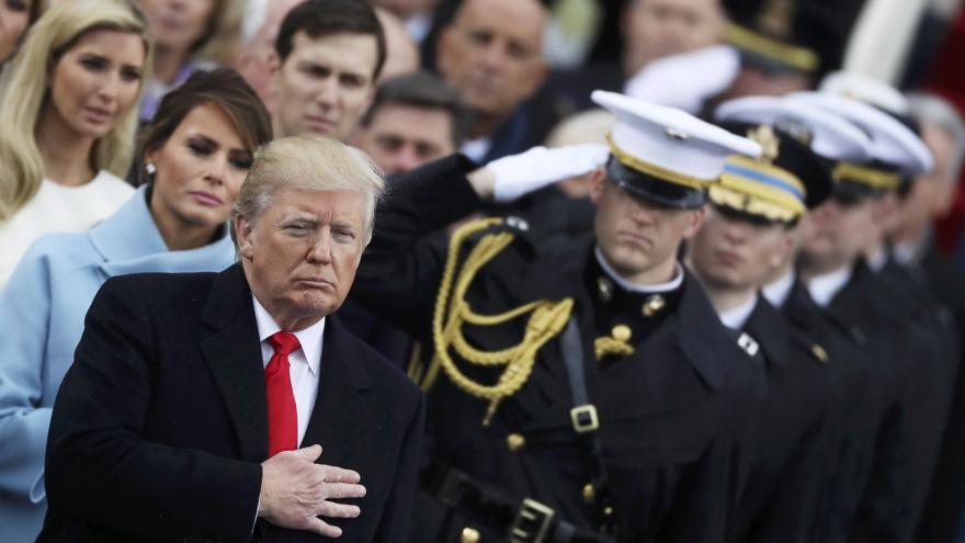 Video Přísaha 45. prezidenta Spojených států Donalda Trumpa
