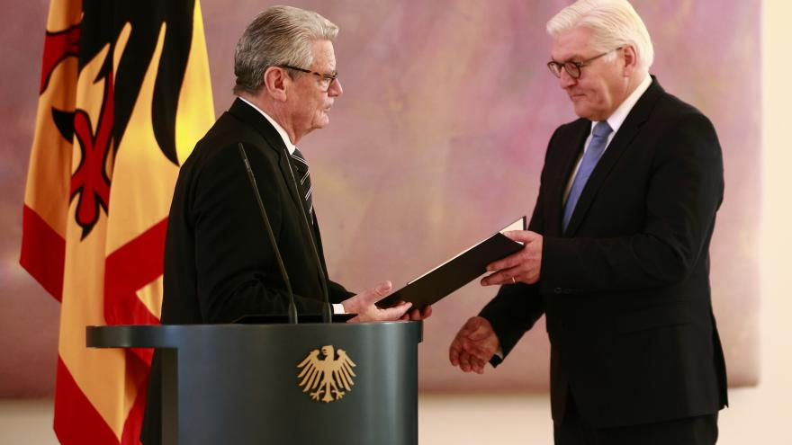 Video Německo vybírá nového prezidenta