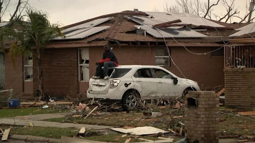 Video BEZ KOMENTÁŘE: Tornádo pustošilo Louisianu
