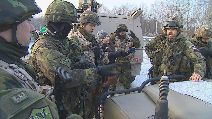 Video Vojáci cvičí ve Vyškově před misí na Mali