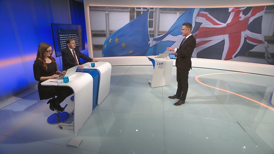 Video 90' ČT24 - Británie odchází z Evropské unie