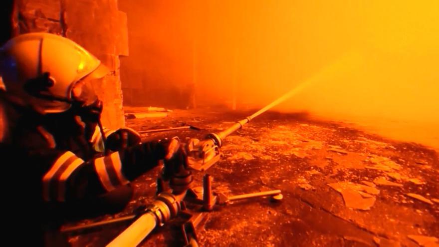 Video Požár ve Vikýřovicích