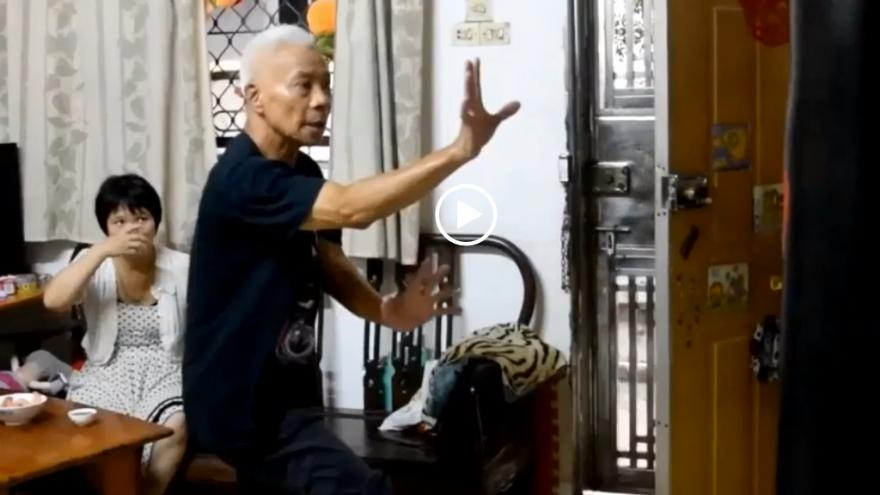 Video iReportér Petr Vrána:Neočekávaná návštěva učitele kung fu