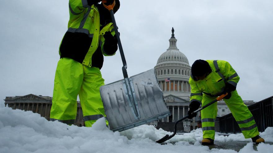 Video Východní pobřeží USA pod sněhem