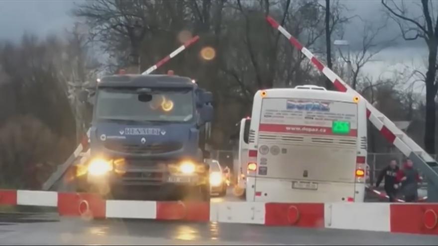 Video Video, které natočil svědek události Petr Kozelka