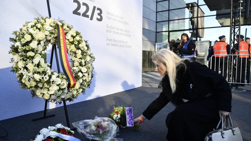 Video ŽIVĚ: Brusel vzpomíná na oběti terorismu